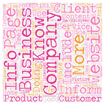 Recommended Content For Your Website text background wordcloud concept