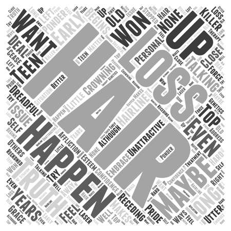 maybe: laser therapy hair Word Cloud Concept