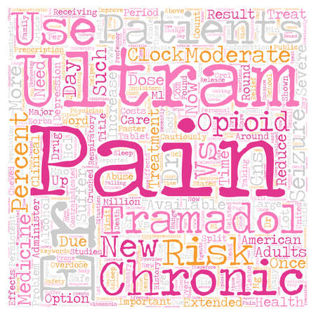 New Medicine Available For Round The Clock Pain text background wordcloud concept