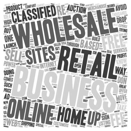 tons: Launch your Home Based retail business through the roof text background wordcloud concept