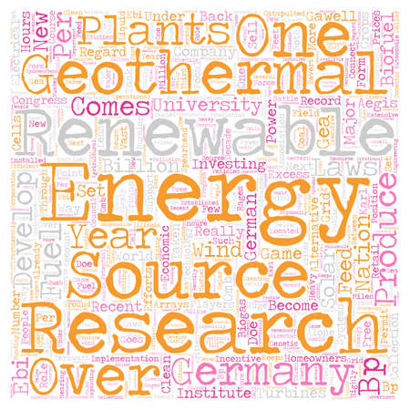 Renewable Fuels for Alternative Energy text background wordcloud concept