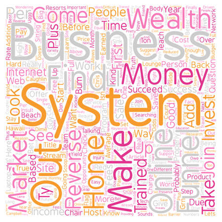 Reverse Funnel System Save Your and Find Out the TRUTH text background wordcloud concept