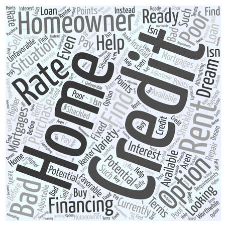 Rent To Own Word Cloud Concept Imagens - 73821614