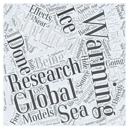 Research on Global Warming Word Cloud Concept