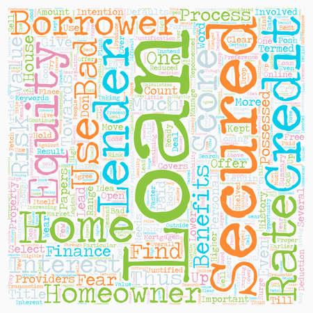 Secured homeowner loans