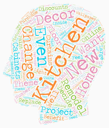 Should You Change Your Decor When You Remodel Your Kitchen text background wordcloud concept