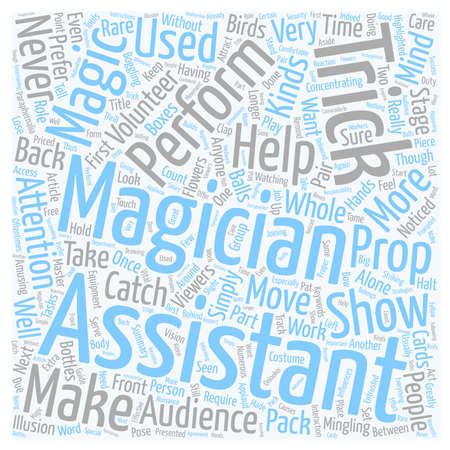 Should You Have An Assistant text background wordcloud concept