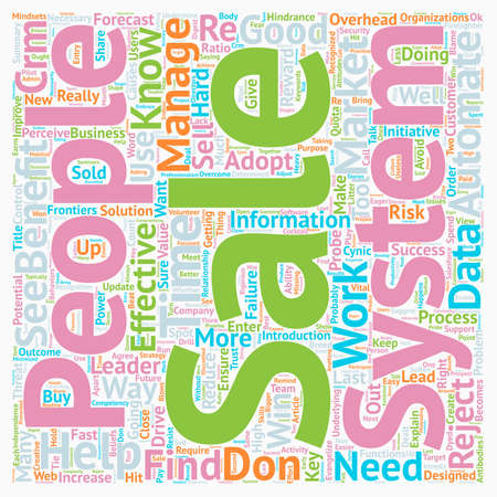Sales The Antibodies That Can Reject A CRM System text background wordcloud concept