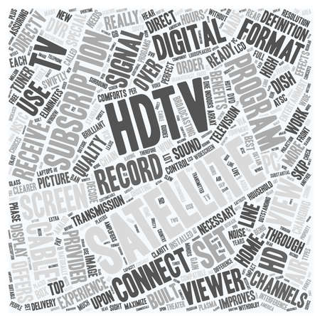 swiftly: satellite tv hdtv 1 text background wordcloud concept