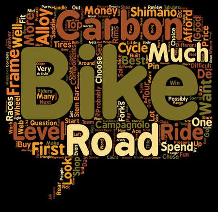 chose: Road Bikes For Sale text background wordcloud concept Illustration
