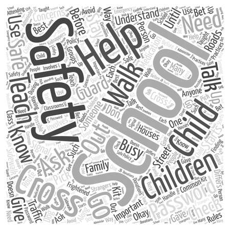 helps: Safety Helps Word Cloud Concept