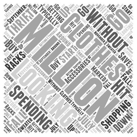 Seeing a head Word Cloud Concept Illustration