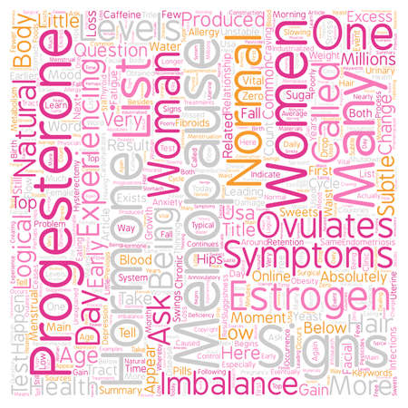 Signs And Symptoms Of Menopause Top Menopause Symptoms text background wordcloud concept
