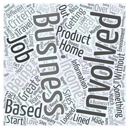 looked: start your own business Word Cloud Concept Illustration