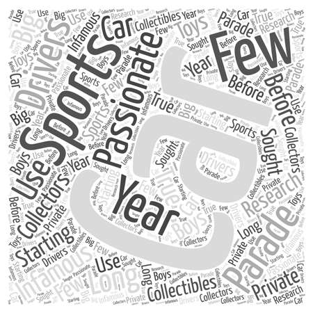 SC new sports cars Word Cloud Concept