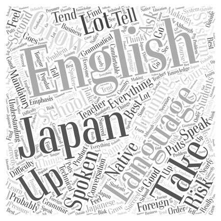 spoken english course Word Cloud Concept