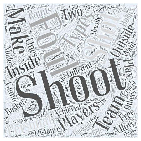 looked: Shooting for the Points Word Cloud Concept