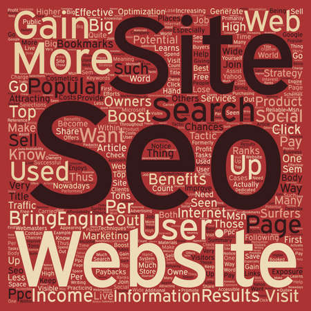 popularity: SEO Benefits What SEO Can Do For You text background wordcloud concept Illustration