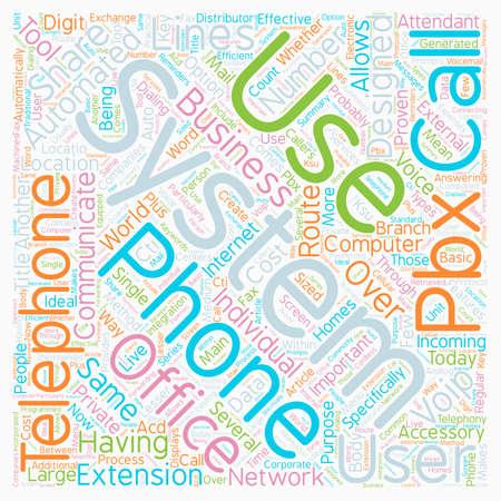 Office 텍스트 배경 wordcloud 개념에서 전화 시스템