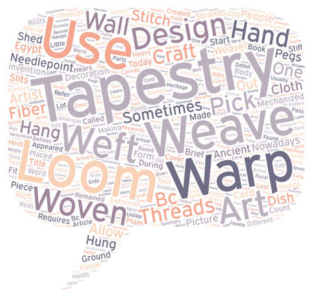 defines: Tapestry Start to Finish text background wordcloud concept