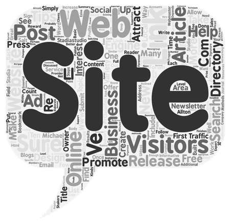 stadia: Ten Tips to Increase Web Traffic text background wordcloud concept Illustration