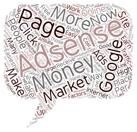 The Easiest Money To Make Online text background wordcloud concept 向量圖像