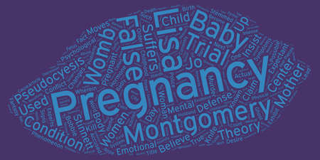 her: The Ghost in Her Womb The Phenomenon of False Pregnancy text background wordcloud concept