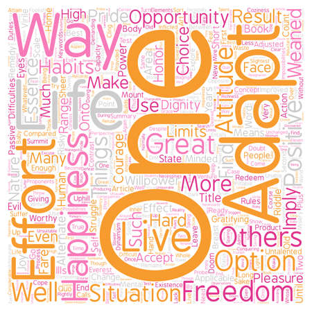 implies: The Essence of Freedom text background wordcloud concept