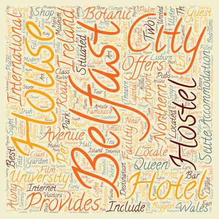 northern ireland: The Capital City Of Wales text background wordcloud concept
