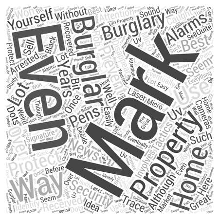 The best ways to prevent burglary brought by nicheblowercom Word Cloud Concept.
