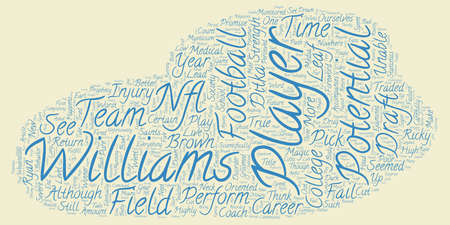 The Ghost Of Players Future text background wordcloud concept