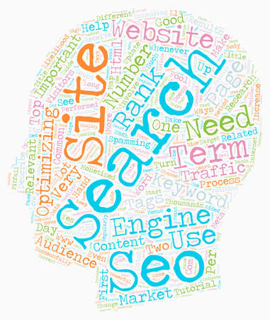 The Beginner s Guide To SEO text background wordcloud concept.