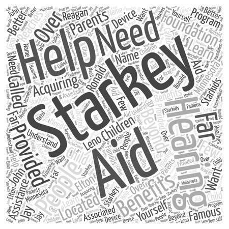 reaches: The Benefits of Starkey Hearing Aids Word Cloud Concept