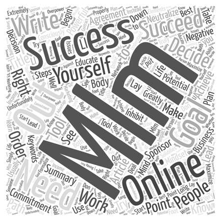 consciously: What You Have to Know About MLM Online Word Cloud Concept