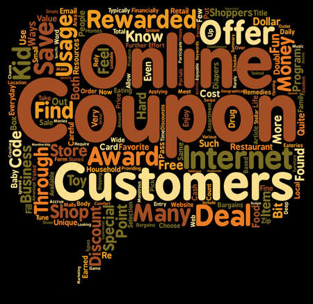 What You Should Know About Your Online Coupons text background wordcloud concept