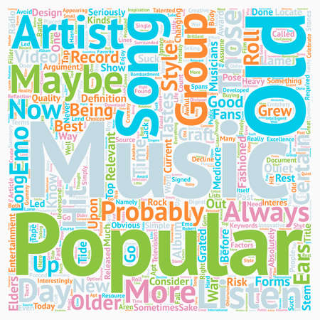 Why Does New Music Suck text background wordcloud concept
