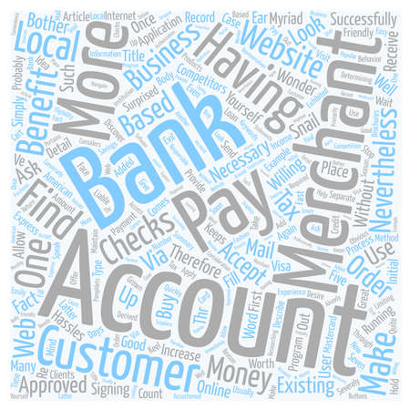 Why You Should Have A Merchant Account text background wordcloud concept Illustration