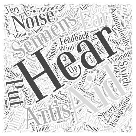 Why Seimens Artis Hearing Aids Are Popular Word Cloud Concept