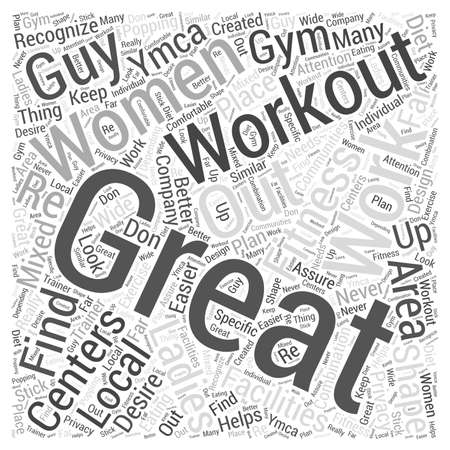 centers: womens fitness centers Word Cloud Concept