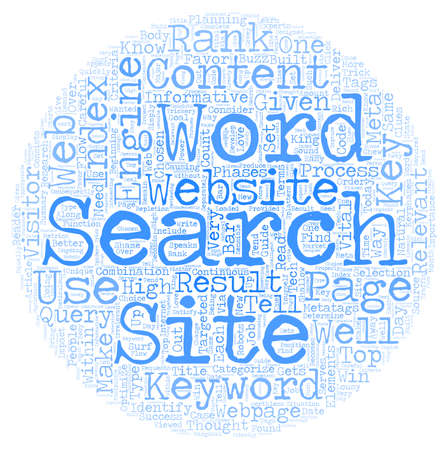 Words Are The Keys To Your Website s Success text background wordcloud concept Illustration