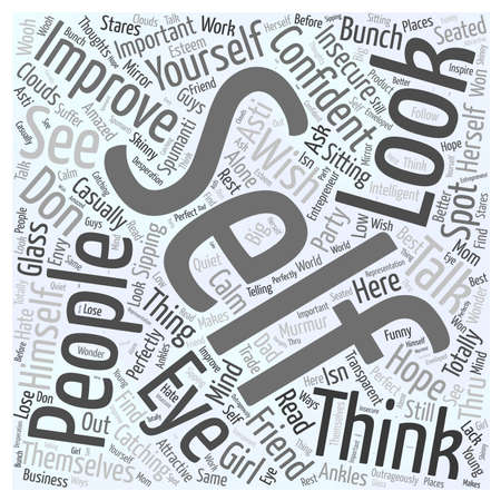 sipping: why is it important to improve yourself Word Cloud Concept