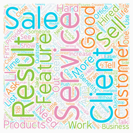 Why It Seems So Hard to Get Hired for Your Services text background wordcloud concept Çizim