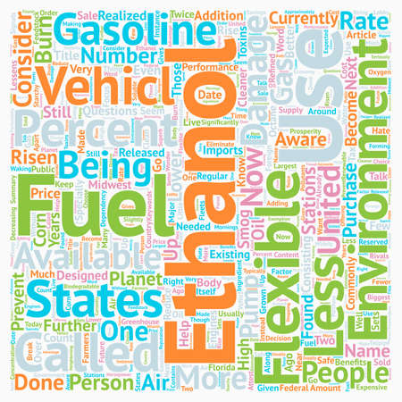 Why Should I Use E Ethanol text background wordcloud concept Illustration