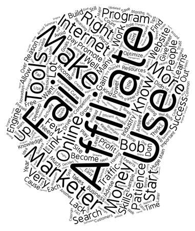 marketers: Why Most Affiliate Marketers Fail To Make Money text background wordcloud concept