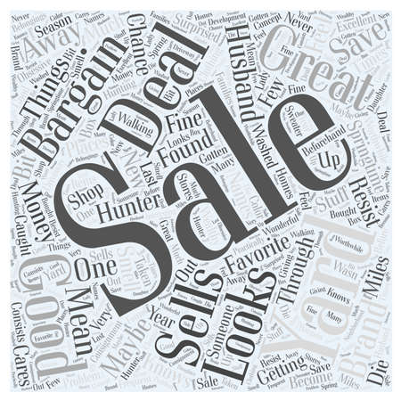 maybe: yard sales Word Cloud Concept