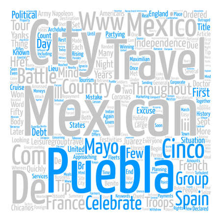 Cinco de Mayo text background word cloud concept