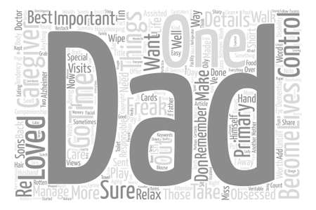 caregivers: Caregivers Don t Become Control Freaks Word Cloud Concept Text Background