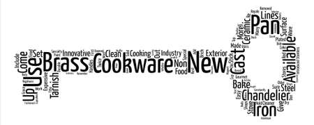 Cookware What s New In Cookware text background word cloud concept