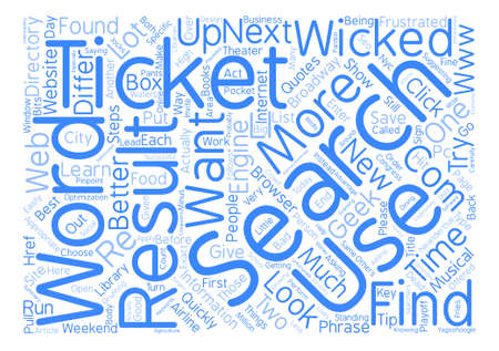 congress: Search Like A Geek text background word cloud concept Illustration