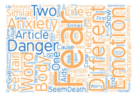 Can you tell the difference text background word cloud concept Ilustrace